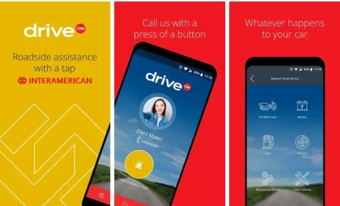 INTERAMERICAN app Drive On